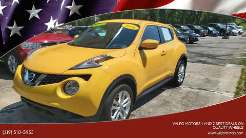 2016 Nissan JUKE for sale at Valpo Motors 1 and 2  Best Deals On Quality Wheels in Valparaiso IN