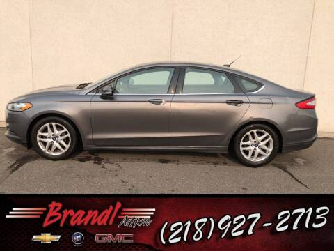 2013 Ford Fusion for sale at Brandl GM in Aitkin MN