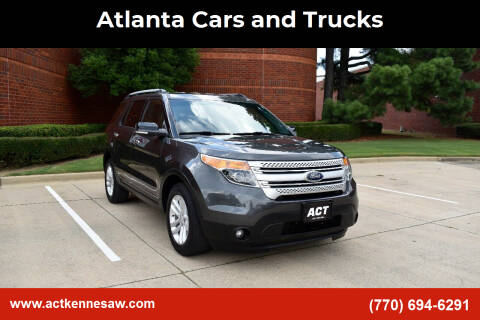 2015 Ford Explorer for sale at Atlanta Cars and Trucks in Kennesaw GA