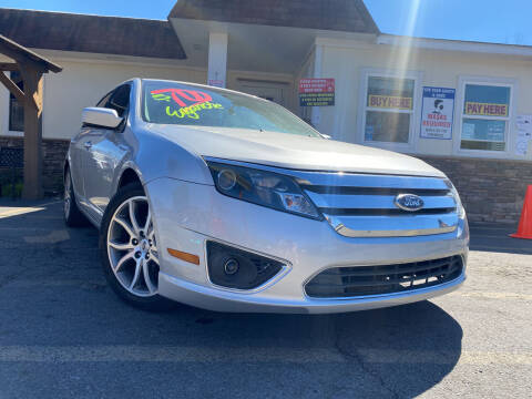 2012 Ford Fusion for sale at Hola Auto Sales Doraville in Doraville GA