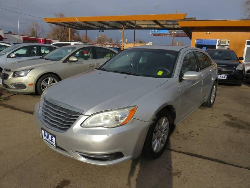 2013 Chrysler 200 for sale at Nile Auto Sales in Denver CO