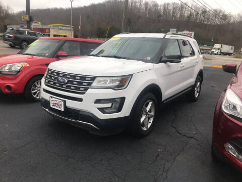 2017 Ford Explorer for sale at PIONEER USED AUTOS & RV SALES in Lavalette WV