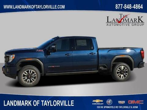 2021 GMC Sierra 2500HD for sale at LANDMARK OF TAYLORVILLE in Taylorville IL
