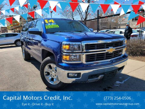 2014 Chevrolet Silverado 1500 for sale at Capital Motors Credit, Inc. in Chicago IL