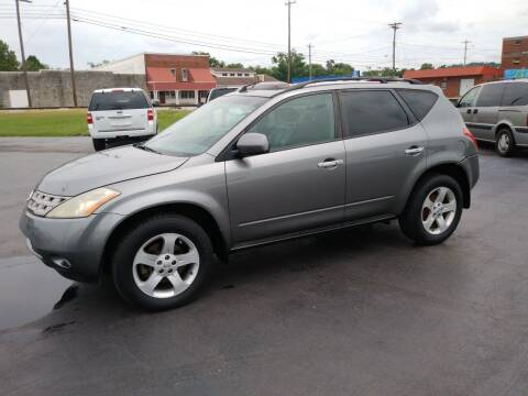 2005 Nissan Murano for sale at Big Boys Auto Sales in Russellville KY