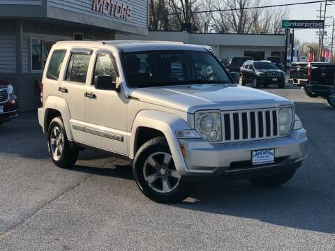 2008 Jeep Liberty for sale at Jarboe Motors in Westminster MD