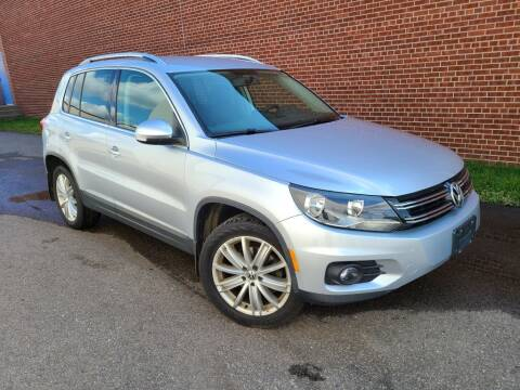 2013 Volkswagen Tiguan for sale at Minnesota Auto Sales in Golden Valley MN