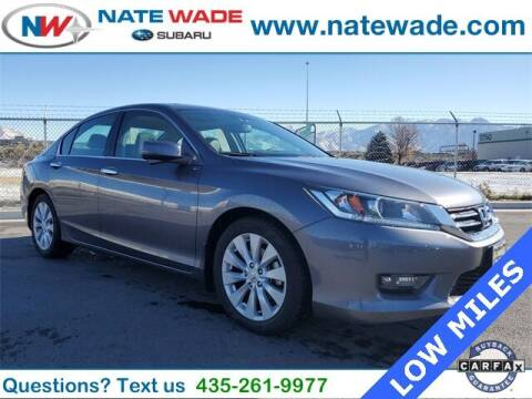 2014 Honda Accord for sale at NATE WADE SUBARU in Salt Lake City UT