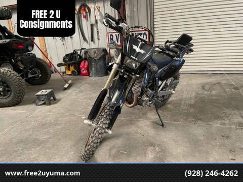 2008 Suzuki DR-Z 400 for sale at FREE 2 U Consignments in Yuma AZ