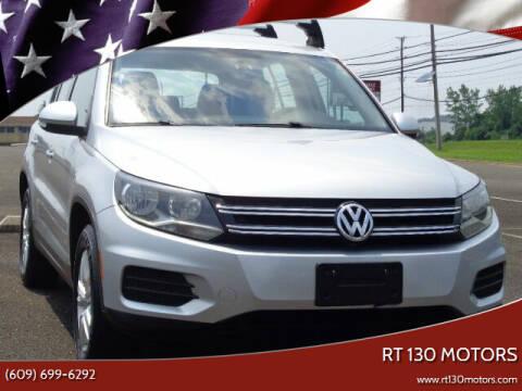 2013 Volkswagen Tiguan for sale at RT 130 Motors in Burlington NJ