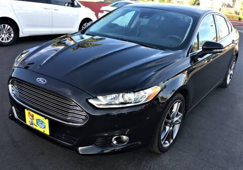 2013 Ford Fusion for sale at CARSTER in Huntington Beach CA