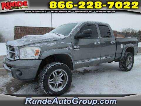 2007 Dodge Ram Pickup 2500 for sale at Runde Chevrolet in East Dubuque IL