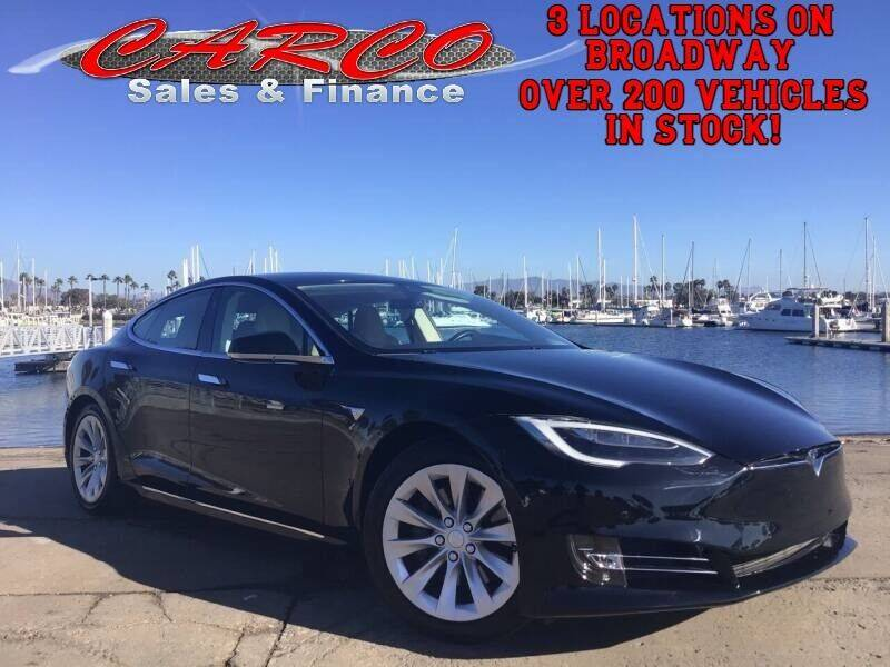 2017 Tesla Model S for sale at CARCO SALES & FINANCE - CARCO OF POWAY in Poway CA