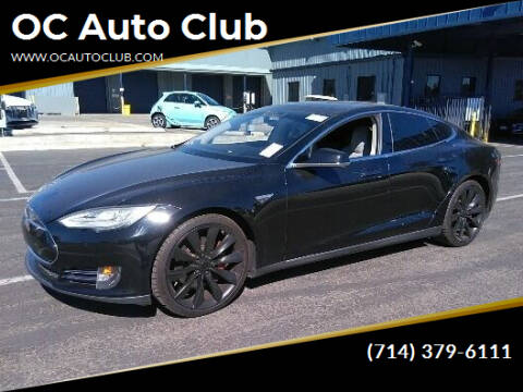 2014 Tesla Model S for sale at OC Auto Club in Midway City CA