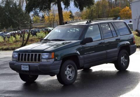 1997 Jeep Grand Cherokee for sale at Skyline Motors Auto Sales in Tacoma WA
