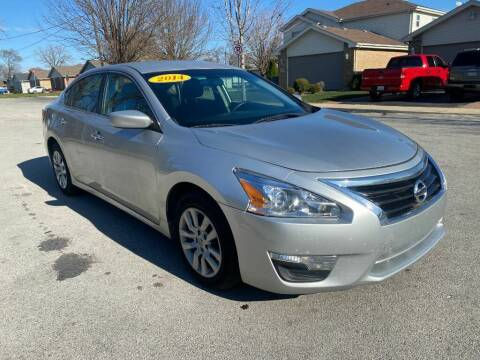 2014 Nissan Altima for sale at Posen Motors in Posen IL