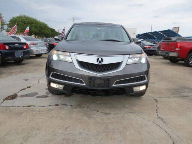 2010 Acura MDX for sale at MOTORS OF TEXAS in Houston TX