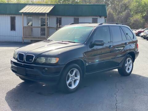 2002 BMW X5 for sale at ASTRO MOTORS in Houston TX