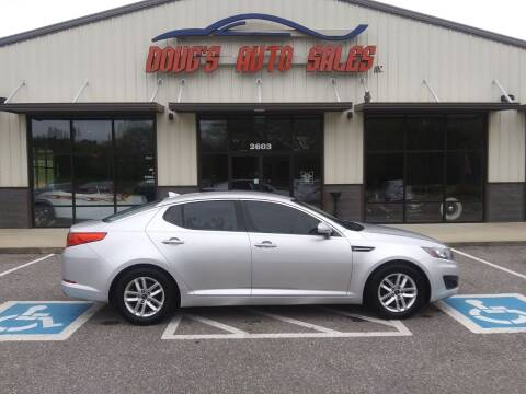 2011 Kia Optima for sale at DOUG'S AUTO SALES INC in Pleasant View TN