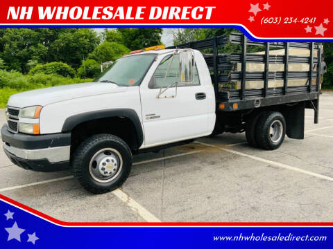 2006 Chevrolet Silverado 3500 for sale at NH WHOLESALE DIRECT in Derry NH