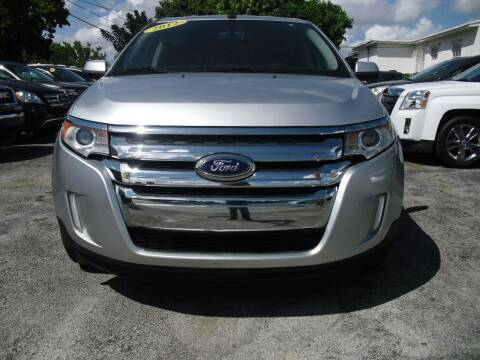 2012 Ford Edge for sale at SUPERAUTO AUTO SALES INC in Hialeah FL
