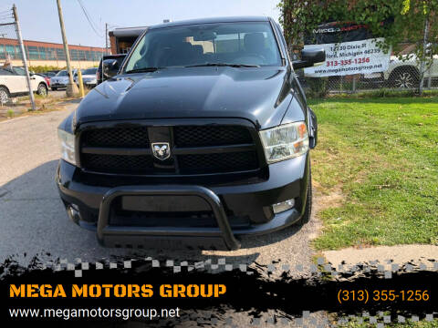 2010 Dodge Ram Pickup 1500 for sale at MEGA MOTORS GROUP in Redford MI