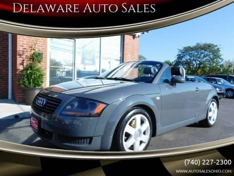 2002 Audi TT for sale at Delaware Auto Sales in Delaware OH