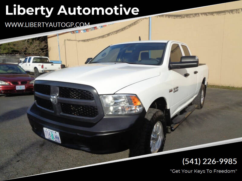 2013 RAM Ram Pickup 1500 for sale at Liberty Automotive in Grants Pass OR