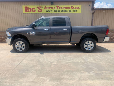 2018 RAM Ram Pickup 2500 for sale at BIG 'S' AUTO & TRACTOR SALES in Blanchard OK