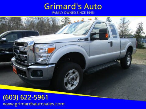 2016 Ford F-350 Super Duty for sale at Grimard's Auto in Hooksett, NH