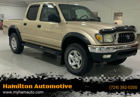 2002 Toyota Tacoma for sale at Hamilton Automotive in North Huntingdon PA