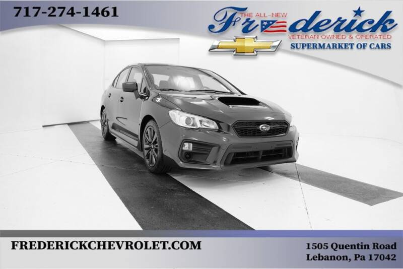 2019 Subaru WRX for sale at Lancaster Pre-Owned in Lancaster PA