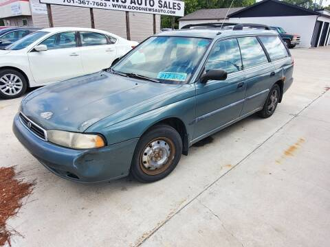 1996 Subaru Legacy for sale at GOOD NEWS AUTO SALES in Fargo ND