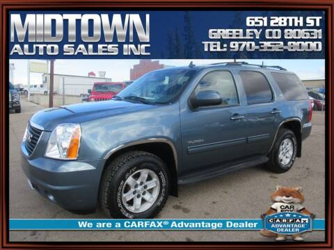 2010 GMC Yukon for sale at MIDTOWN AUTO SALES INC in Greeley CO