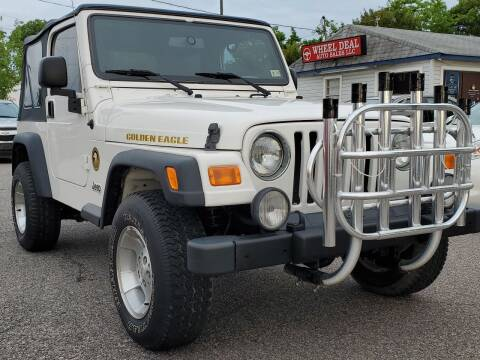 2006 Jeep Wrangler for sale at Wheel Deal Auto Sales LLC in Norfolk VA