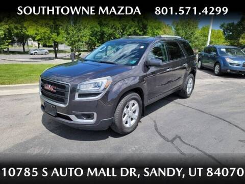 2016 GMC Acadia for sale at Southtowne Mazda of Sandy in Sandy UT