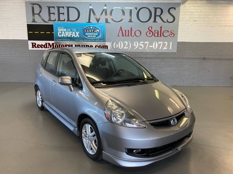 2008 Honda Fit for sale at REED MOTORS LLC in Phoenix AZ