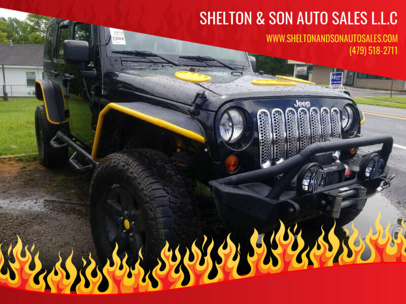 2013 Jeep Wrangler Unlimited for sale at Shelton & Son Auto Sales L.L.C in Dover AR