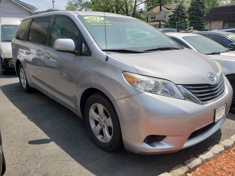 2012 Toyota Sienna for sale at DNS Automotive Inc. in Bergenfield NJ