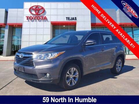 2015 Toyota Highlander for sale at TEJAS TOYOTA in Humble TX