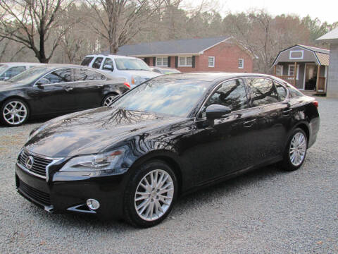 2013 Lexus GS 350 for sale at White Cross Auto Sales in Chapel Hill NC
