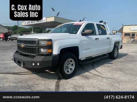 2015 Chevrolet Silverado 1500 for sale at C. Cox Auto Sales Inc in Joplin MO