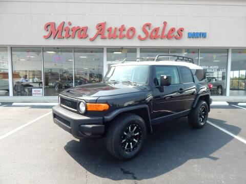 2007 Toyota FJ Cruiser for sale at Mira Auto Sales in Dayton OH