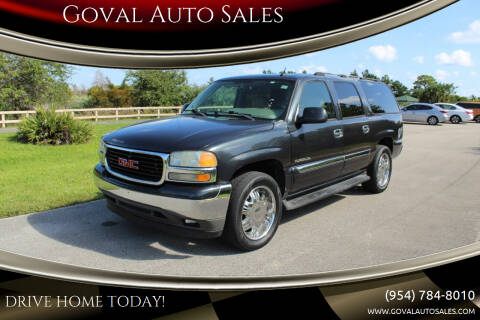 2005 GMC Yukon XL for sale at Goval Auto Sales in Pompano Beach FL