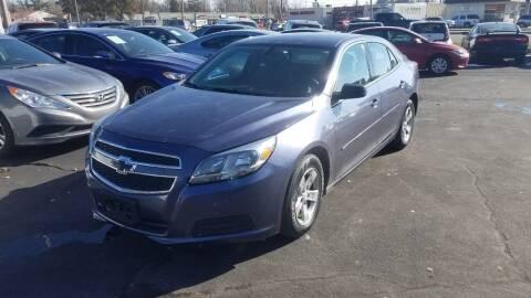 2013 Chevrolet Malibu for sale at Nonstop Motors in Indianapolis IN