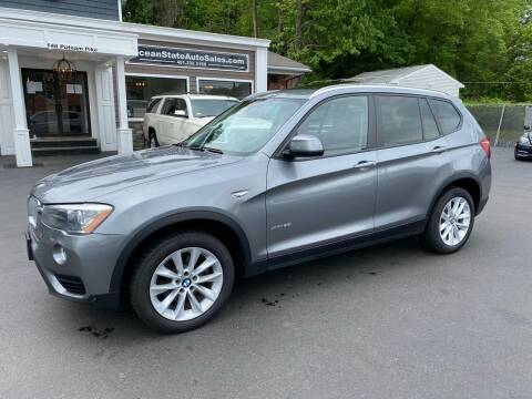 2017 BMW X3 for sale at Ocean State Auto Sales in Johnston RI
