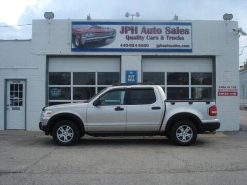 2007 Ford Explorer Sport Trac for sale at JPH Auto Sales in Eastlake OH