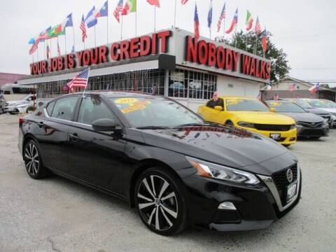 2019 Nissan Altima for sale at Giant Auto Mart 2 in Houston TX
