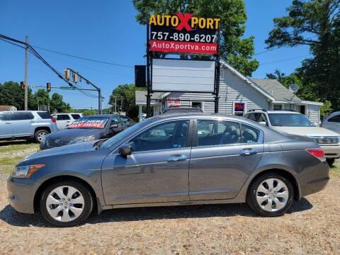 2009 Honda Accord for sale at Autoxport in Newport News VA