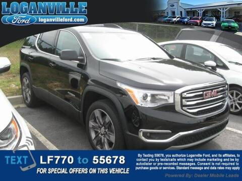 2019 GMC Acadia for sale at Loganville Quick Lane and Tire Center in Loganville GA